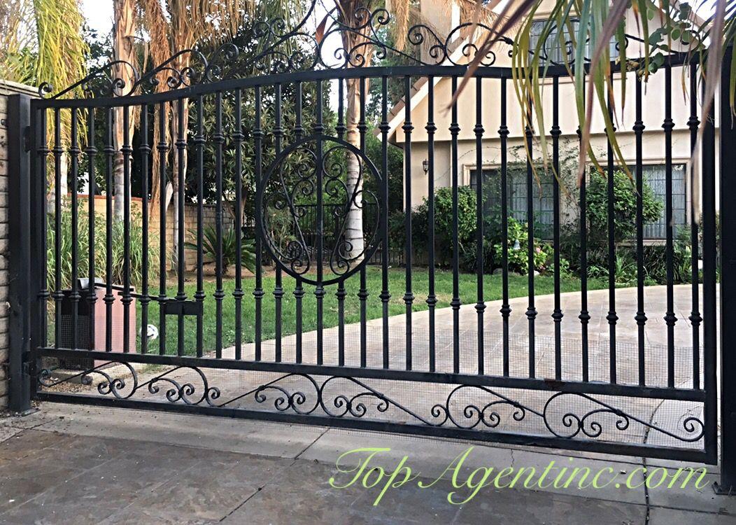Black Wrought Iron Gate Wrought Iron Fence Panels Iron Fence Panels Wrought Iron Driveway Gates