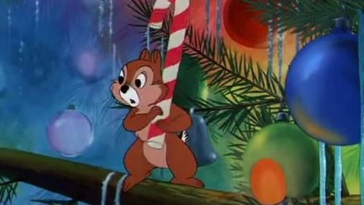 1952 Mickey Mouse Pluto Chip N Dale Pluto S Christmas Tree Disney Christmas Mickeys Christmas Carol Mickey Christmas