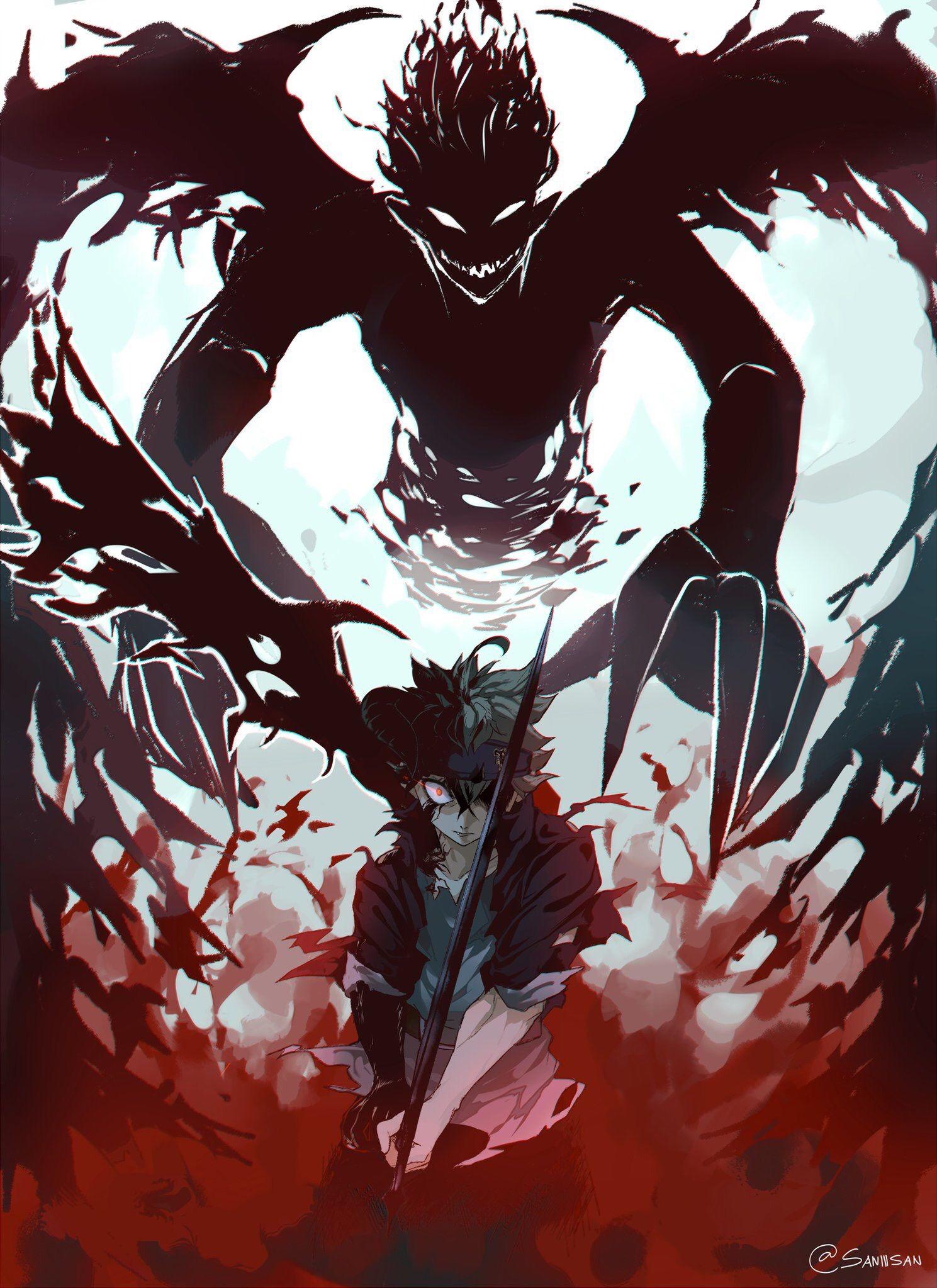 Black Clover Asta Animes Wallpapers Anime Personagens De Anime