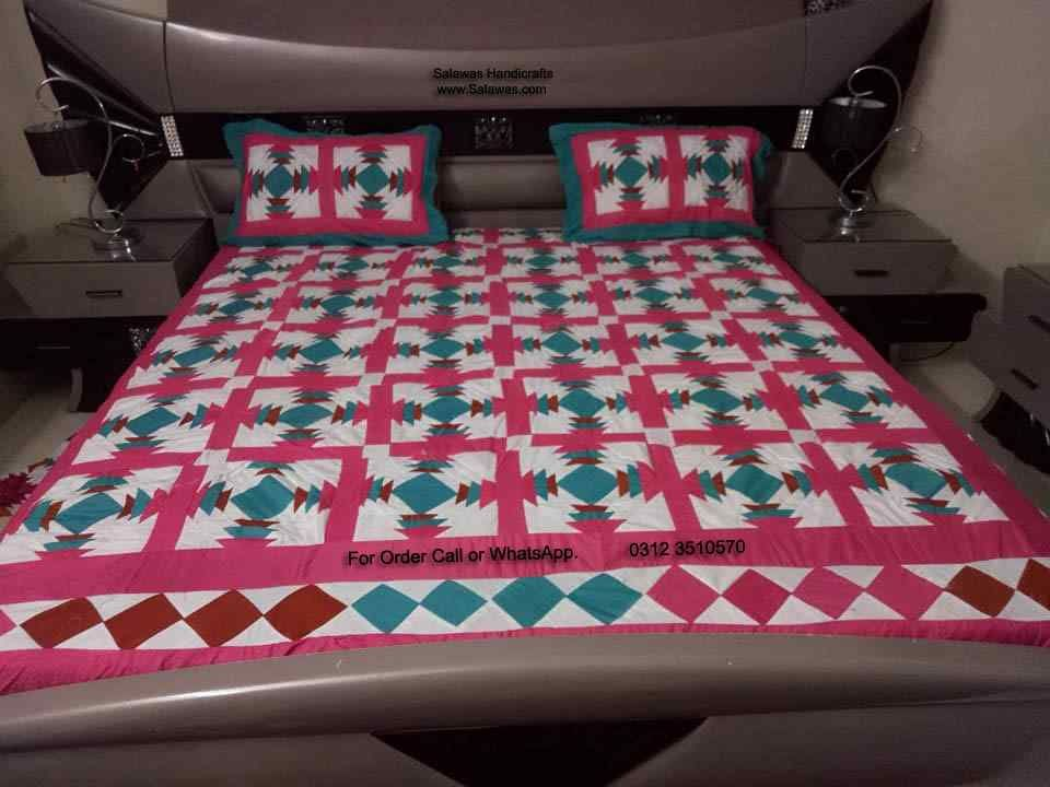 Delicieux The Handmade Patchwork Bedsheets New Designs And Patterns Available For Sale  Form Pakistan, #handmade