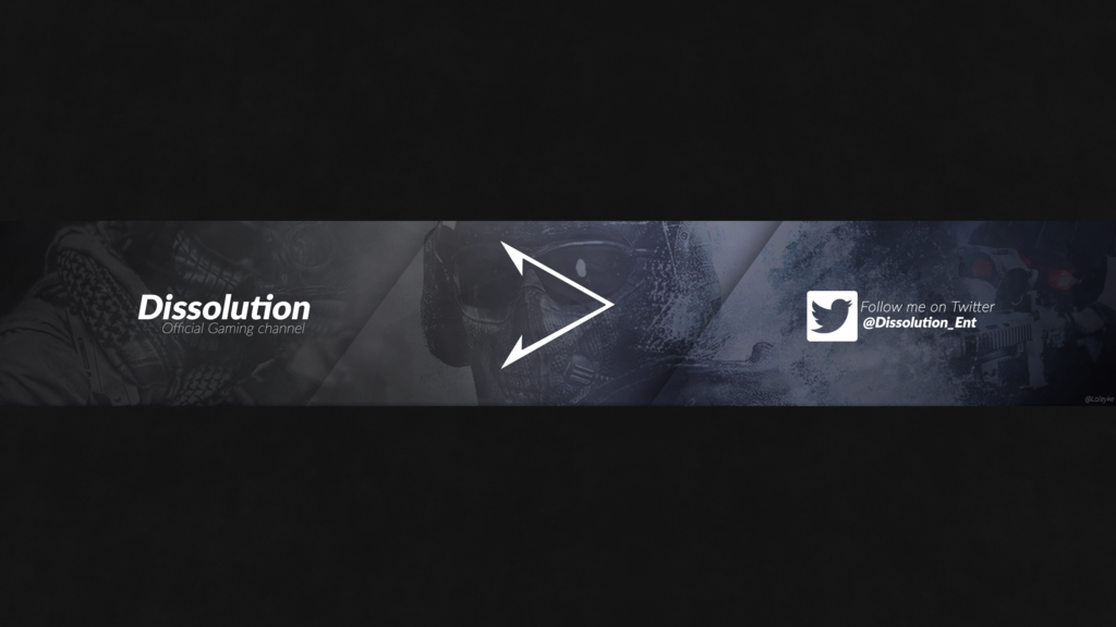 Youtube Gaming Channel Banner Dissolution By Loleyke Youtube Banner Template Youtube Banner Design Youtube Banner Backgrounds
