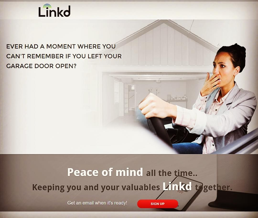 Frantically trying to get your kids situated bringing them to work today that you completely forget if you closed the garage door!? With Linkd you never have to worry about it Check the link in bio!  #newtechnology #gadgets #iot #smarthome #sensors #garage #door #frontdoor #motion #security #family #kids #takeyourkidtoworkday #entrepreneur #company #innovation #passion by linkpoints