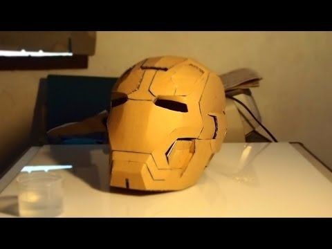 Dali Lomo Iron Man Mark 42 Costume Helmet DIY