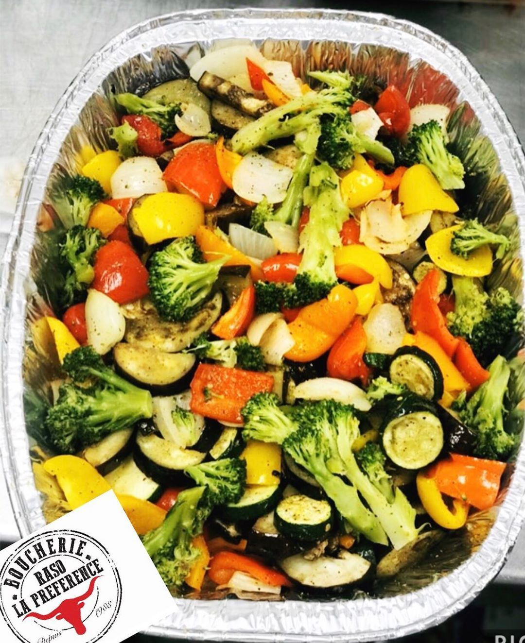 Mixed Roasted Vegetable platter  Available daily 5143672153