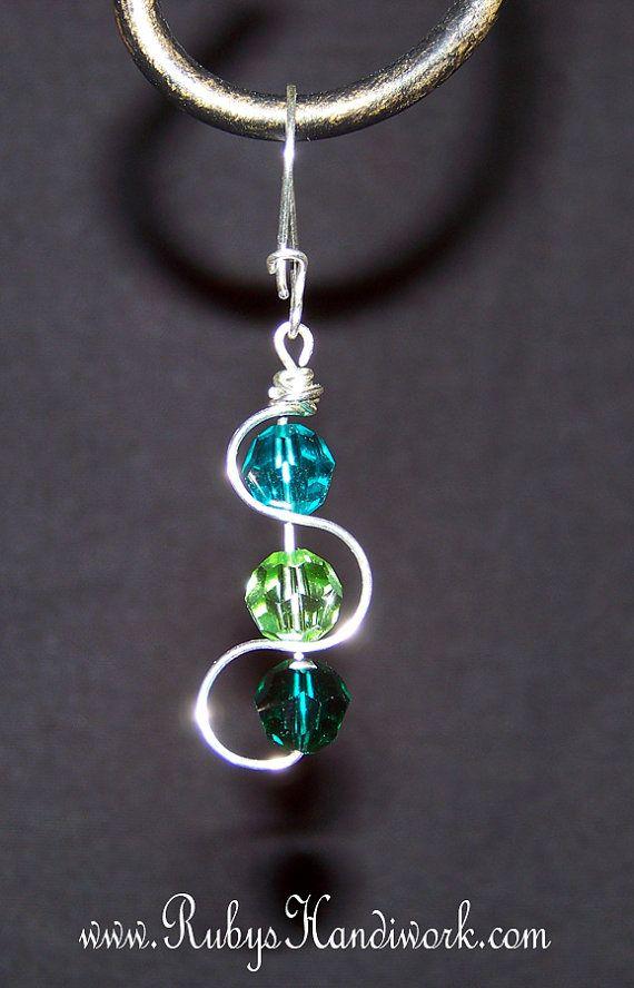 Swarovski Crystal Earrings Handmade Handcrafted Note Card Rubyshandiwork On Etsy 45 00