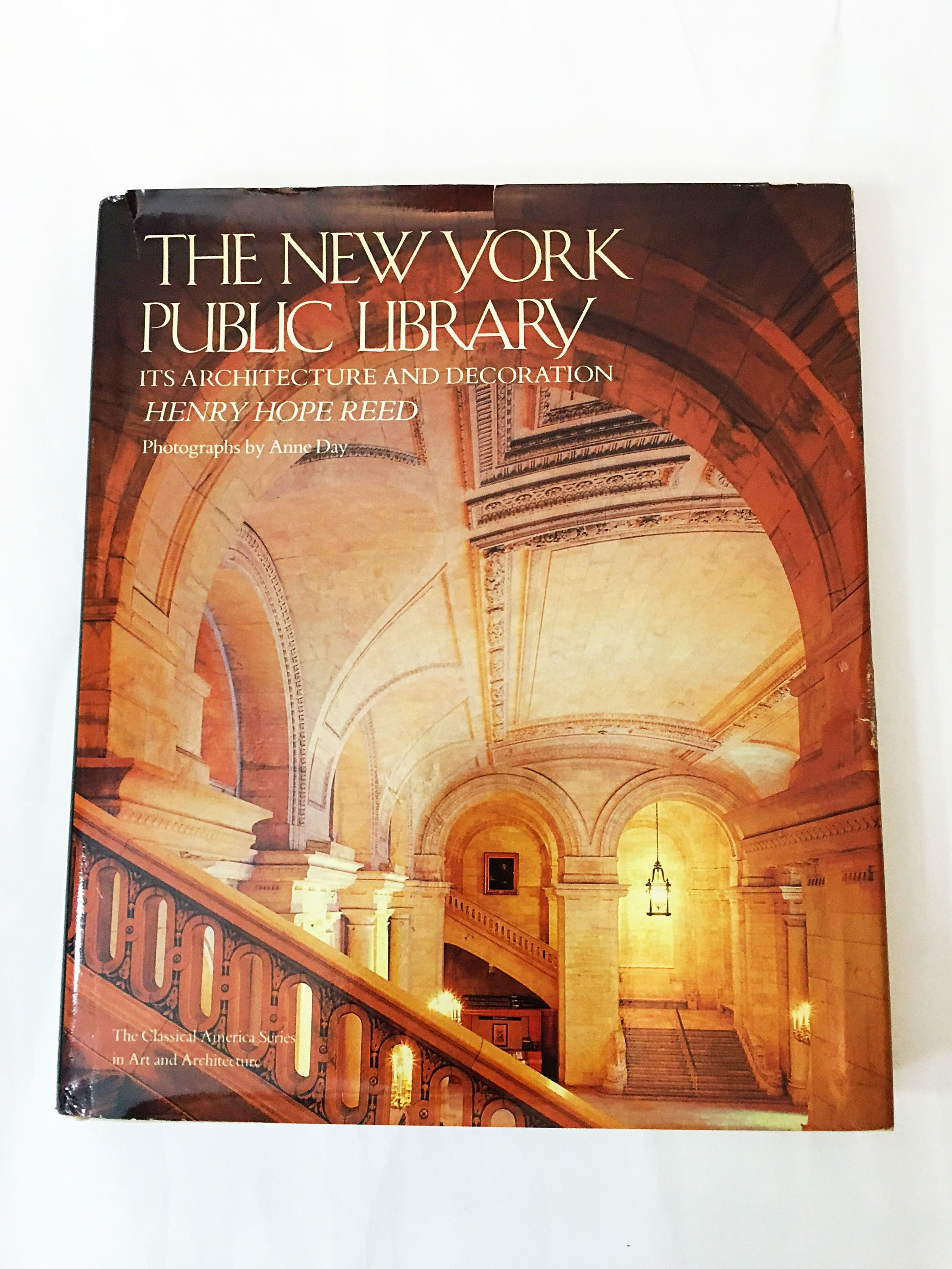 Boutique Art Et Decoration The New York Public Library Book Architecture Decoration First