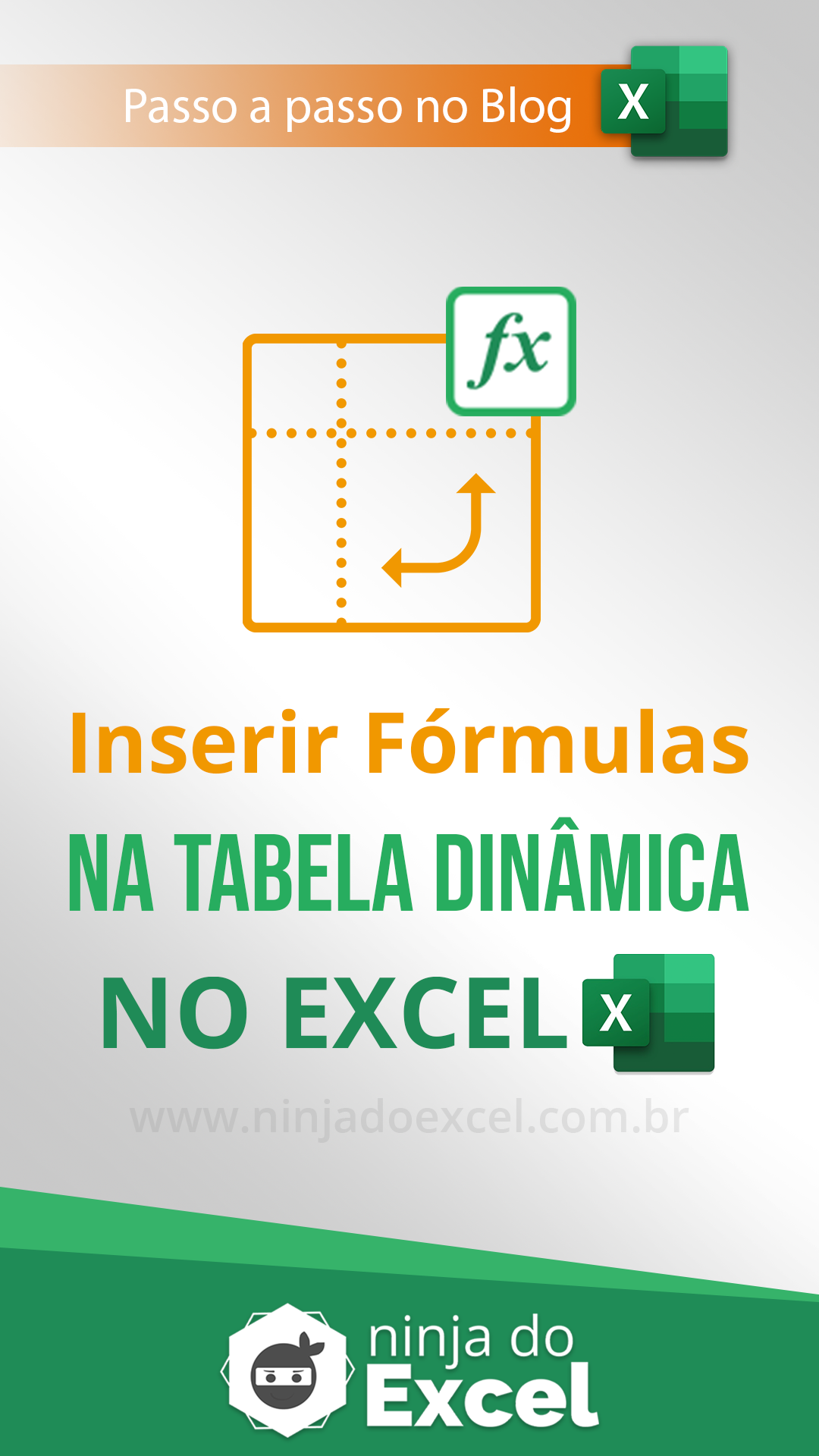 Pin em Aulas de Excel
