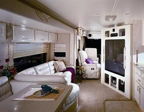 Luxurious Motorhomes Interior