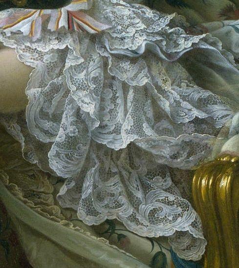 Francois-Hubert Drouais - Madame de Pompadour at her Tambour Frame