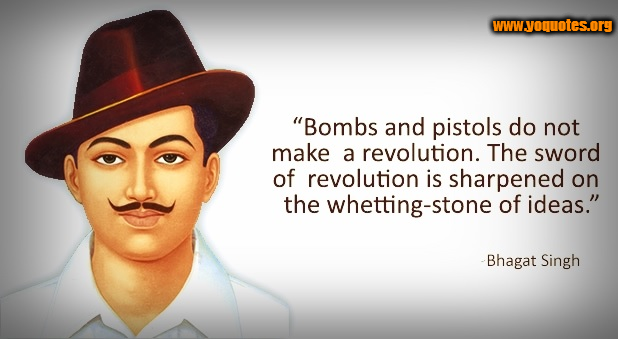 Bhagat Singh Quotes, Sayings, Images & Best Lines Bhagat