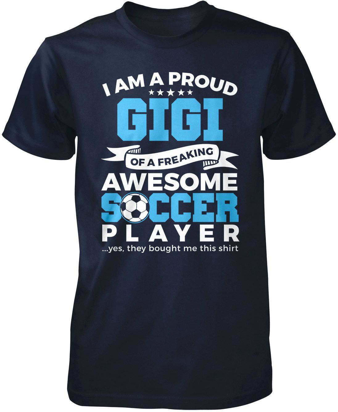 Proud Gigi of An Awesome Soccer Player