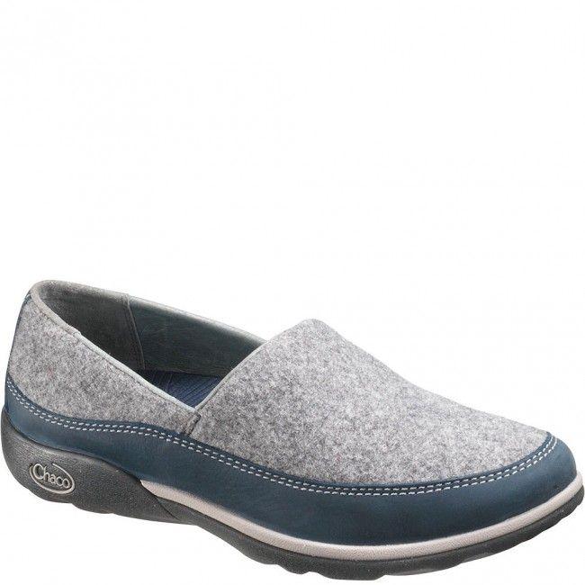 J105344 Chaco Women's Sloan Casual Shoes - Blue Steel www.bootbay.com