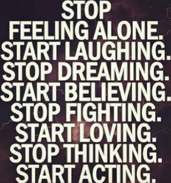Stop Feeling Alone. Start Believing, Loving And Acting.