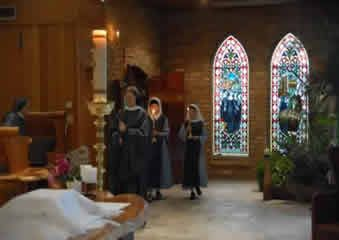Benedictine contemplative nuns