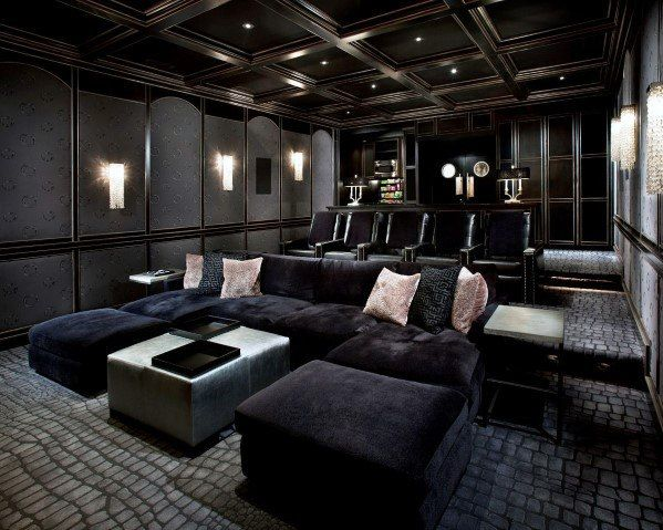 Photo of 70 cool home theater rooms