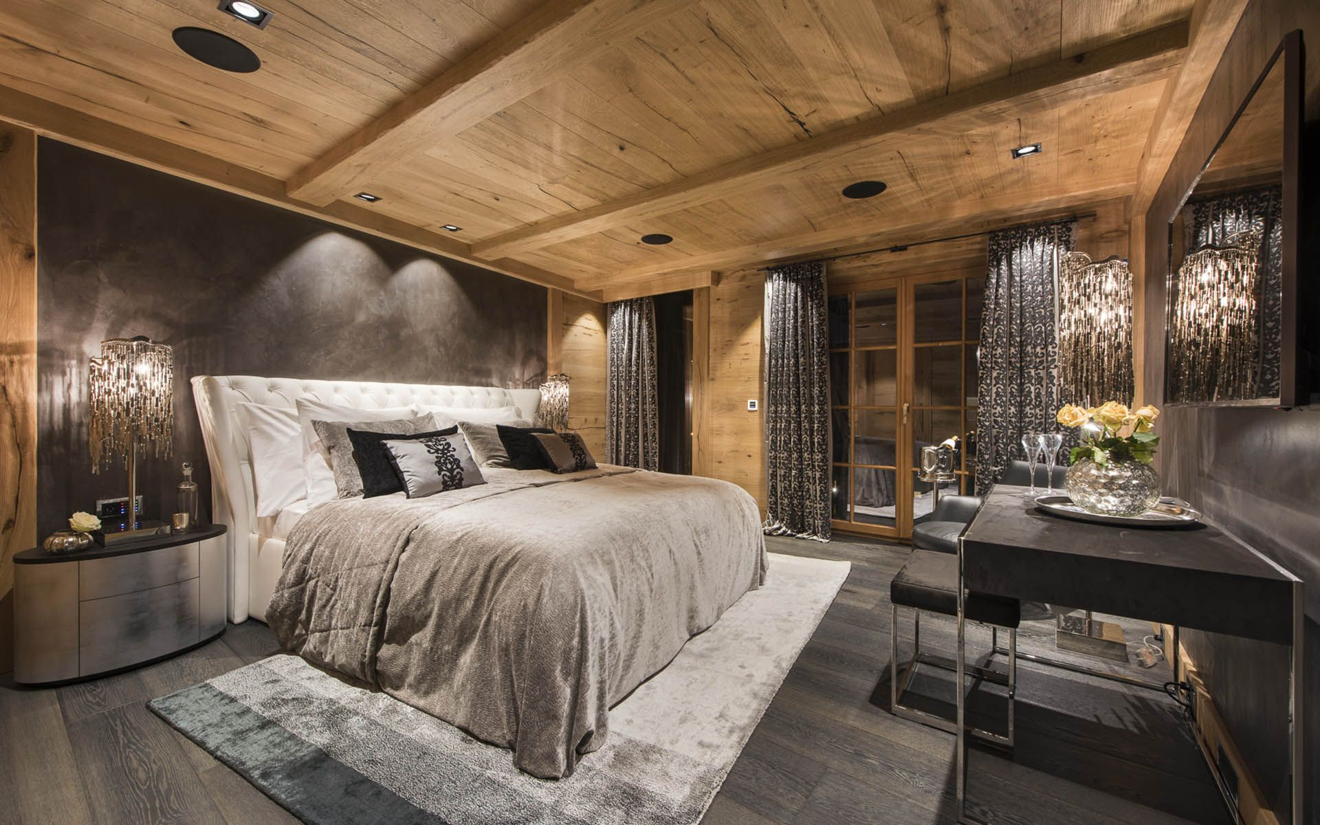 Chalet Aconcagua, Zermatt Is Part Of The Luxury Chalets 7 Heavens Project  Next To The Sunnegga Funicular. This Luxury Chalets Sleeps 10 People In 5  Bedrooms ...