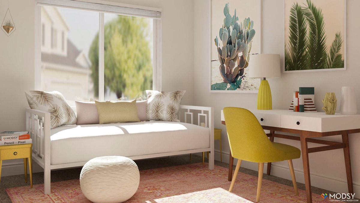 Office/guest room design ideas | Guest room daybed, Small guest rooms,  Guest room office