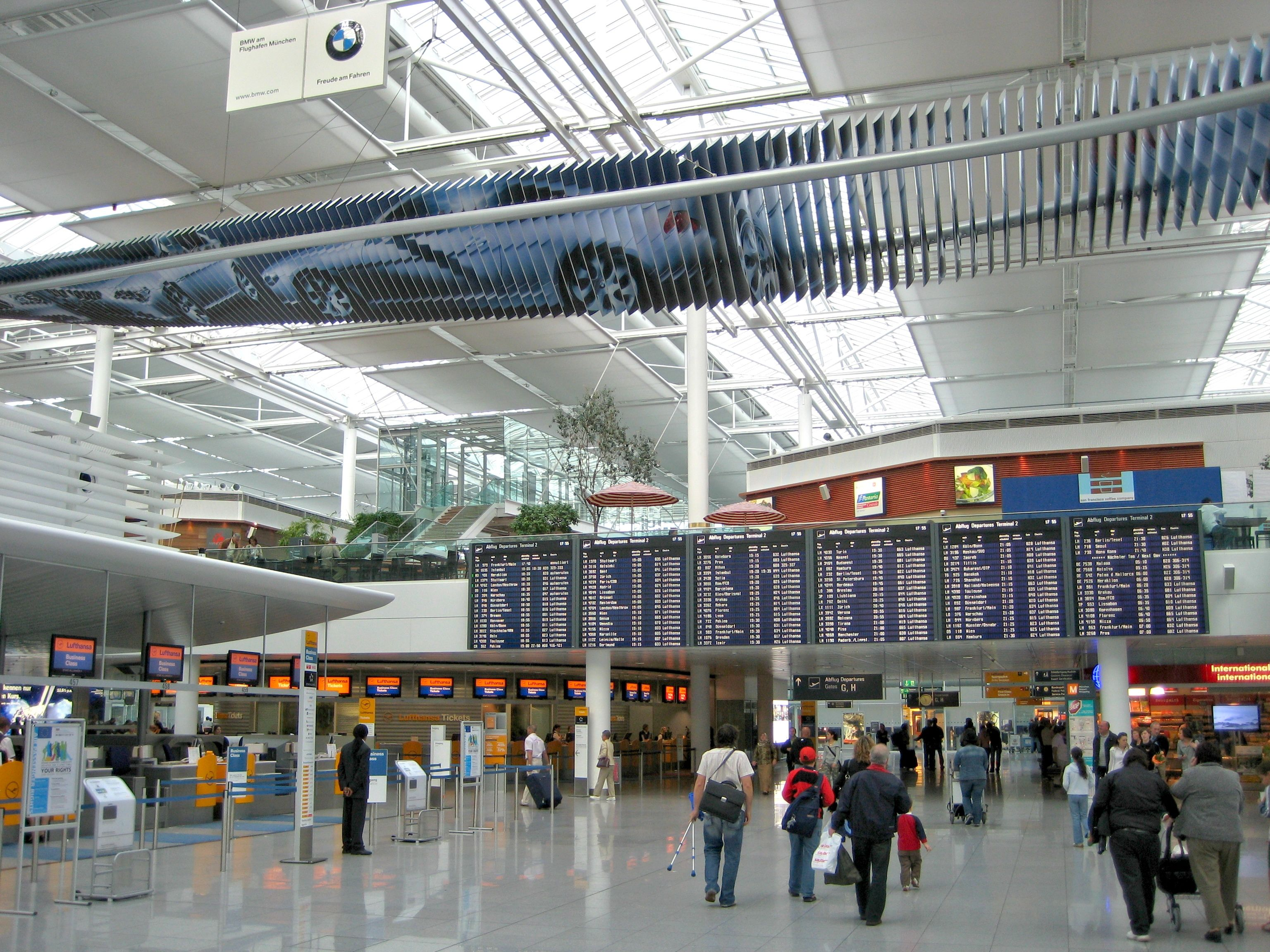 Audio Postcard Munich Airport Munich Airport Munich
