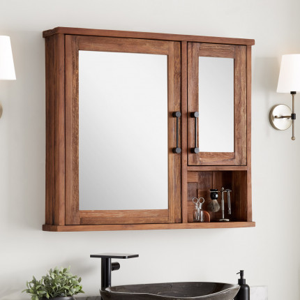 bathroom medicine cabinets | signature hardware | rustic