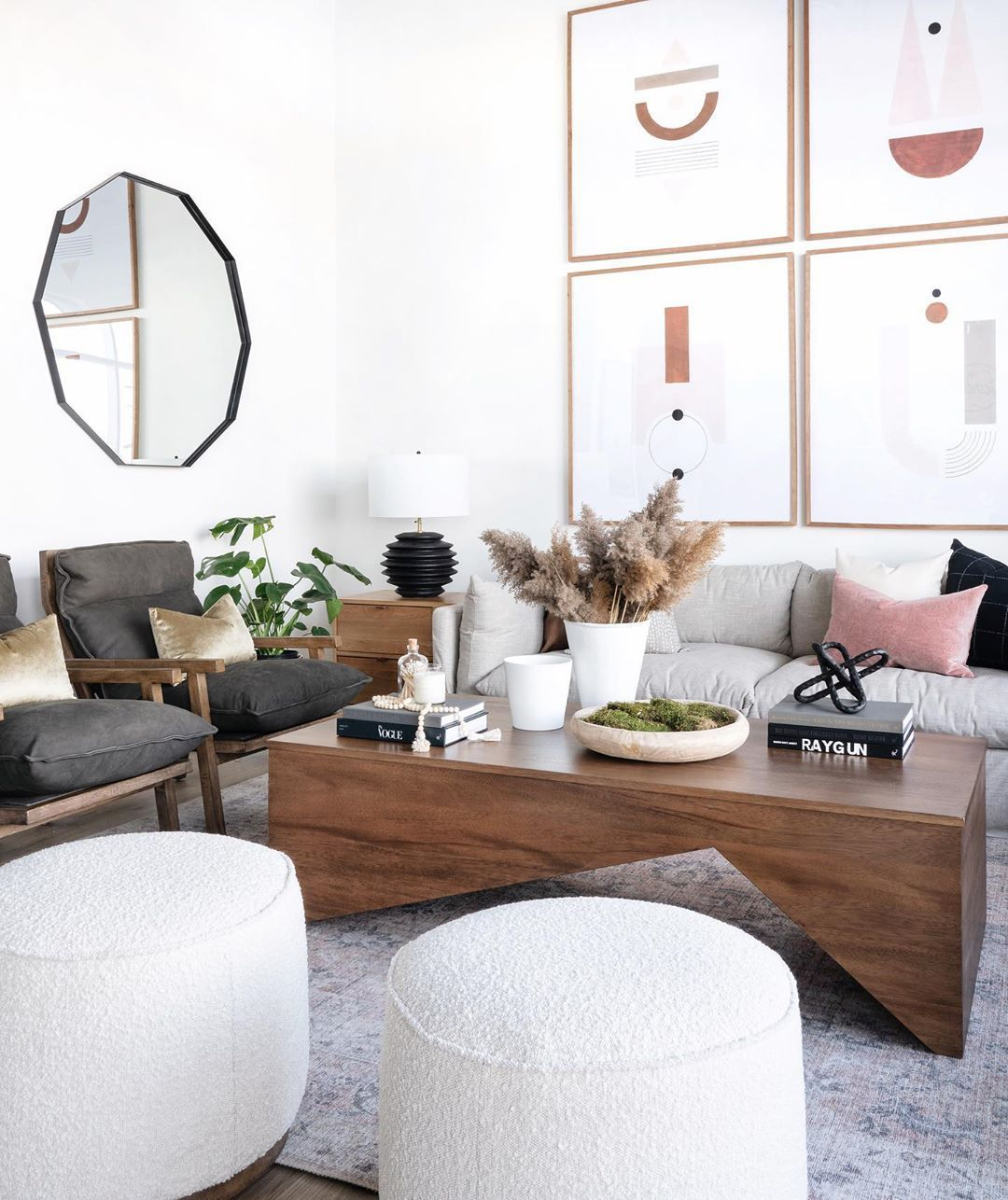 Leclair Decor On Instagram Another View Of Our Front Room Set Up In The Expansion We Were Back At It Today A Small Living Rooms Home Decor Small Living Room View home decor for living room table