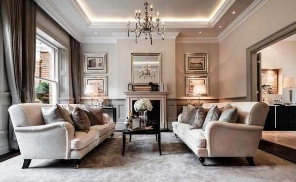 modern classic living room design ideas and furniture 2018 ...
