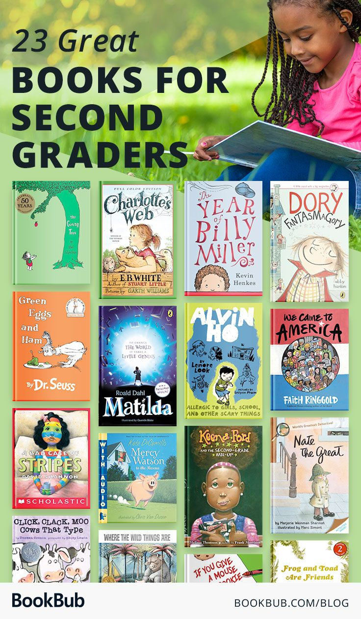 23 books to get and keep your 2nd grader reading books