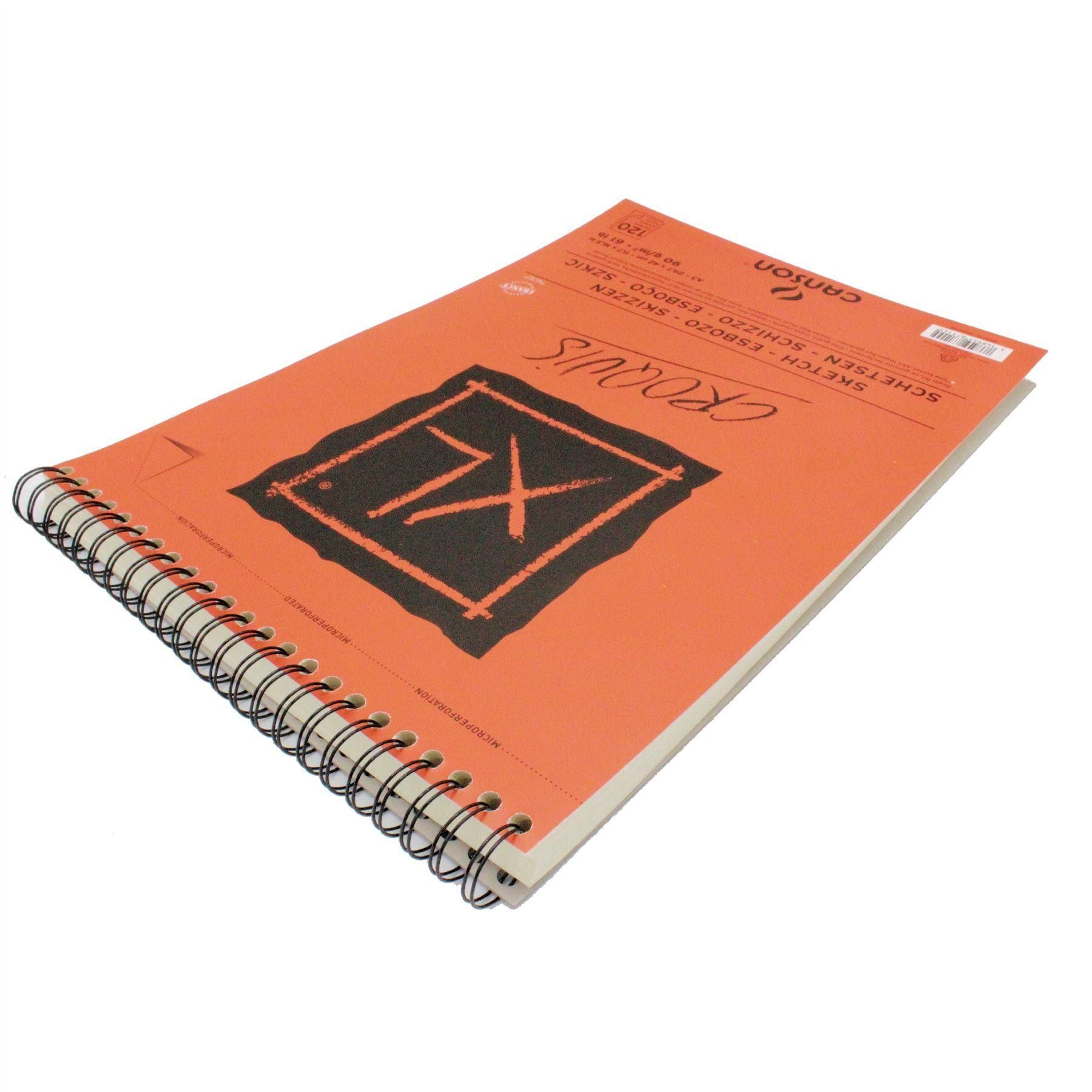 Canson Xl Artsits Sketch Paper Pad 90gsm A5 A4 A3 Or A2 Sketch