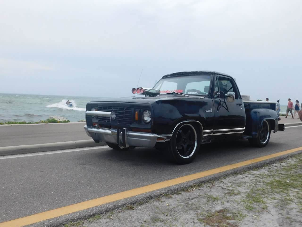 This 1978 Dodge Ram D100 Was Bought Brand New In 78 By T D Tisdale 3 Years Later It Ped To His Wife Then Daughter