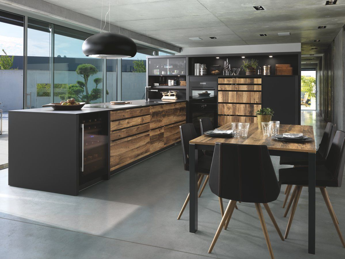 Toutes Les Nouveautes De La Marque Schmidt Pour La Cuisine L Amenagement Ou La Salle De Bains Cuisines Design Cuisine Bois Cuisine Ouverte