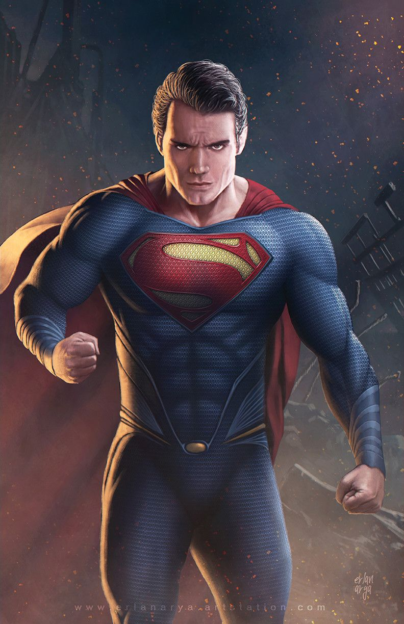 ArtStation - Man of Steel, Erlan Arya