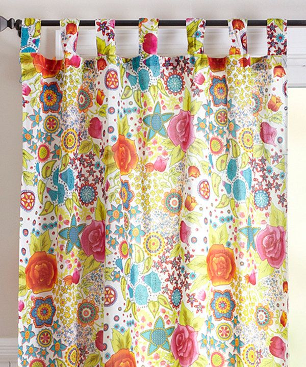 Take A Look At This Karma Living Bohemian Curtain On Zulily Today!