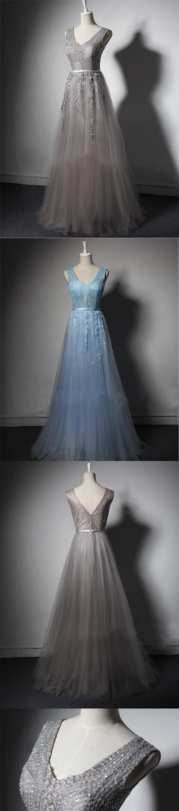 Beading Shining Gorgeous Custom Fashion Formal Modest Prom Dress, Elegant Bridesmaid Dress , PD0390 #modestprom