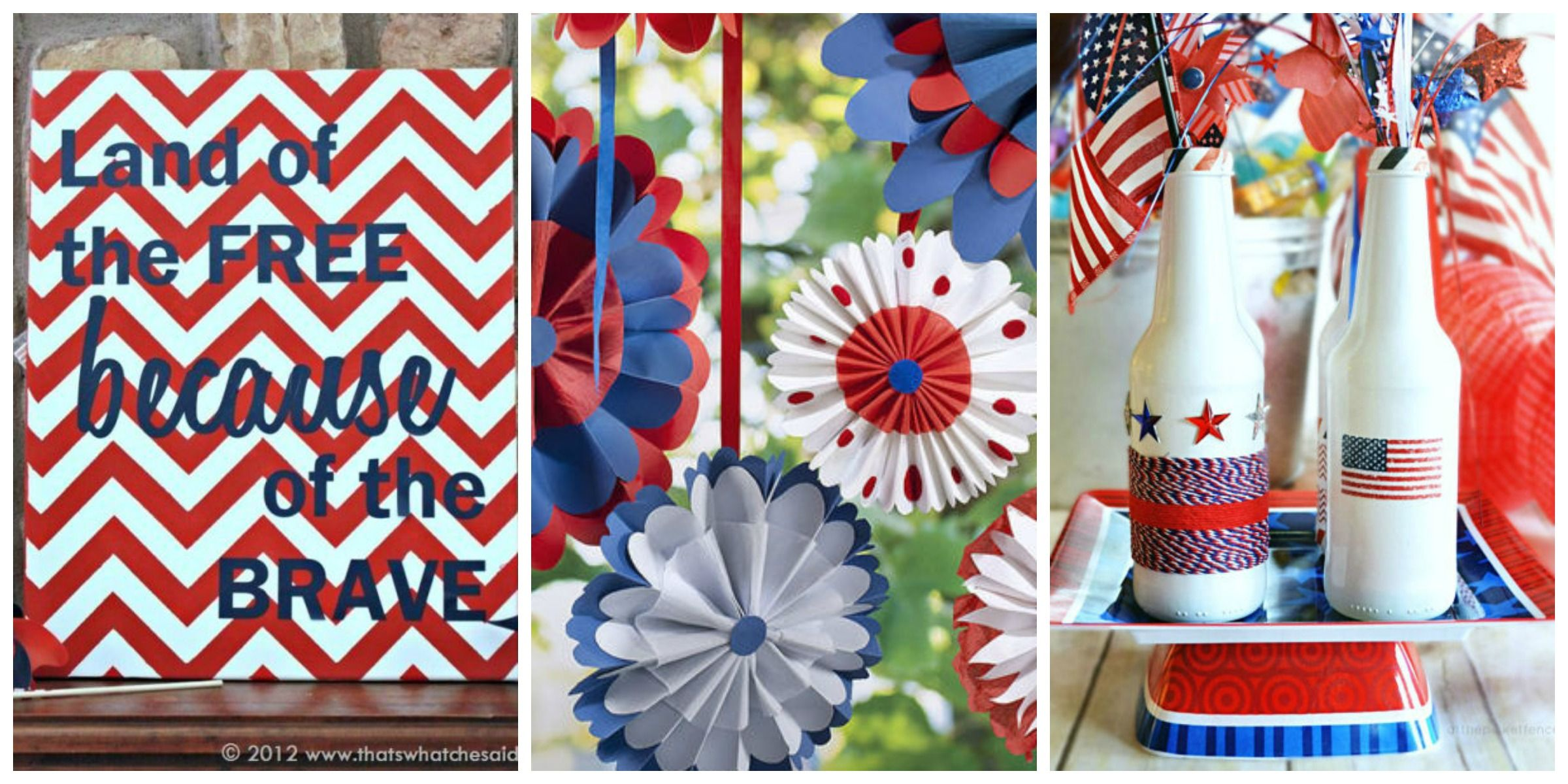 36 Red White And Blue 4th Of July Crafts To Get In The