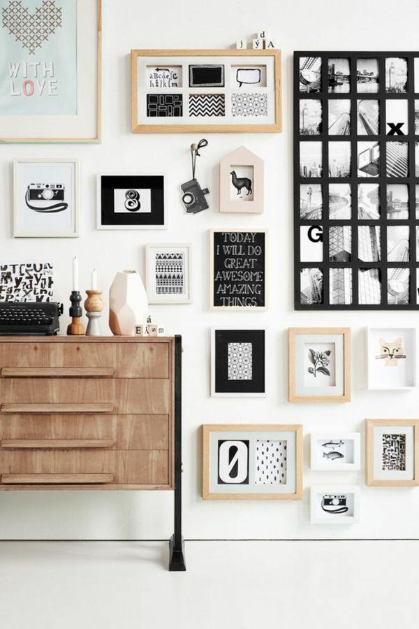 Moderne Wandgestaltung - kreative Ideen und Beispiele - moderne wohnzimmer gestalten