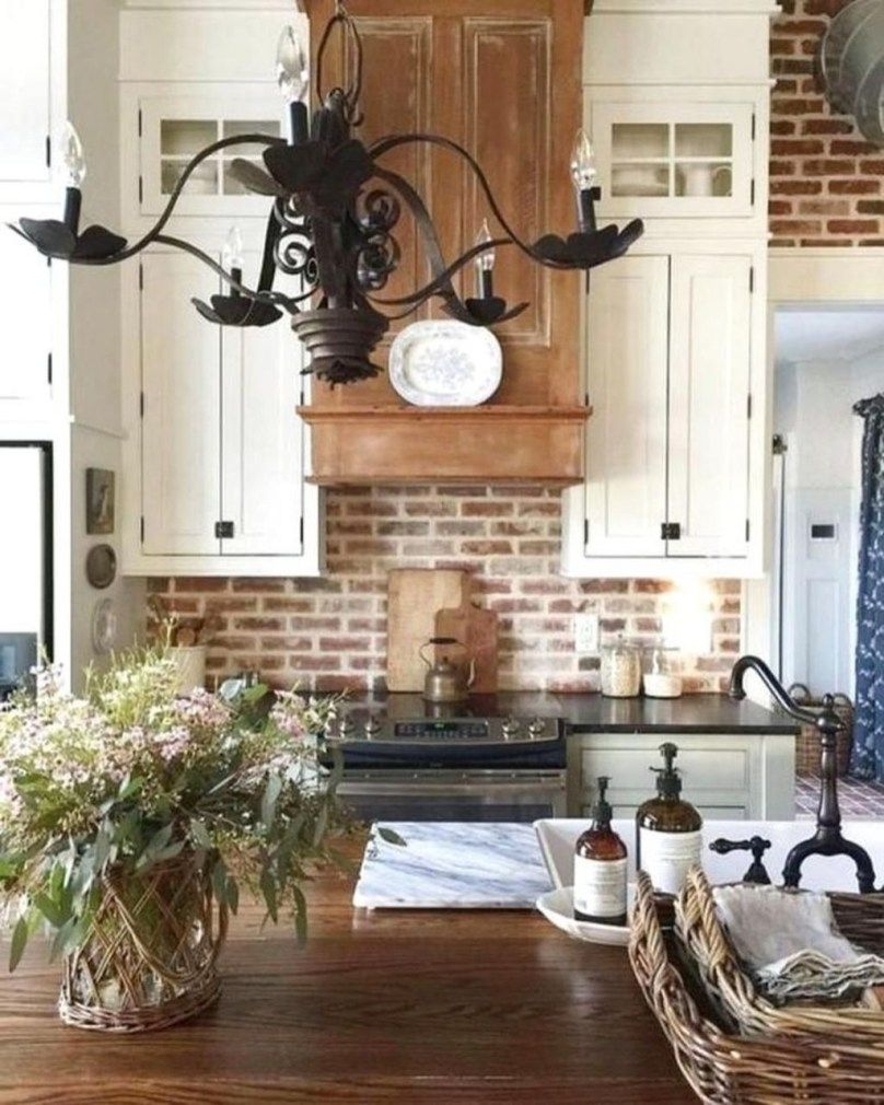 42 Lovely Rustic Western Style Kitchen Decorations Ideas ...