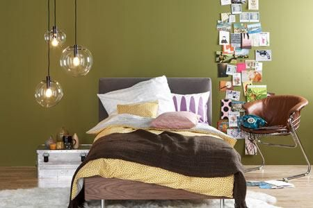 farbe grau gr n braun wohnen und einrichten mit naturfarben bedroom pinterest. Black Bedroom Furniture Sets. Home Design Ideas