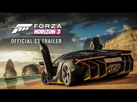 Forza Horizon 3 - Forza Horizon 3 : trailer officiel