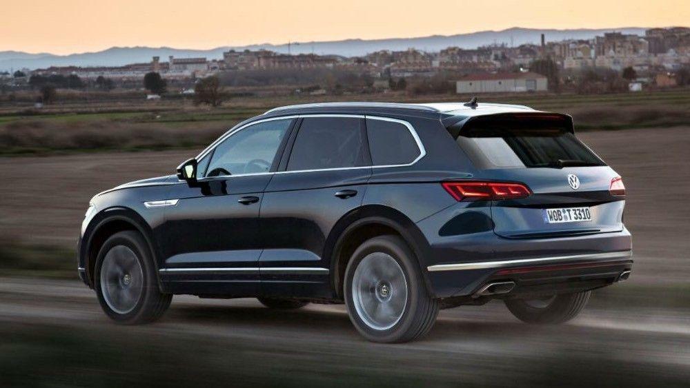 2019 VW Touareg: Larger, Lighter, Smarter, Agiler >> Volkswagen 2018 Volkswagen Touareg Iii Page 7 Cars