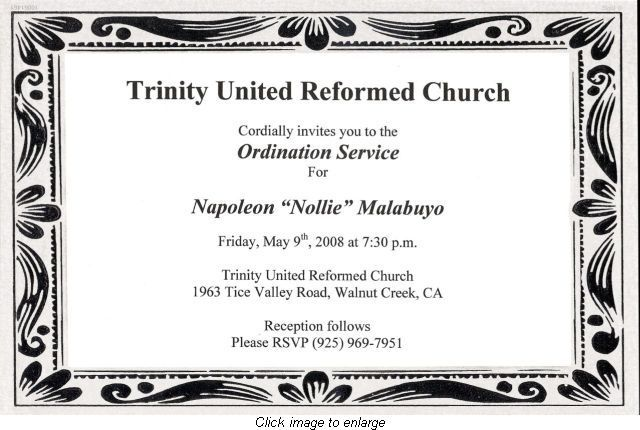 How to Write an Ordination Invitation Church ideas and Craft - best of ordination certificate free
