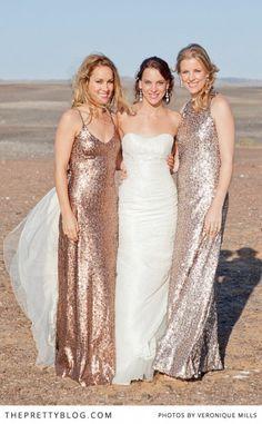 Rose Gold Bridesmaid Dresses Google Search
