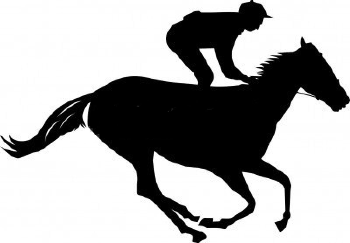 free silhouette clip art race horse bing images bedroom race rh pinterest ca horse racing clipart black and white horse barrel racing clipart