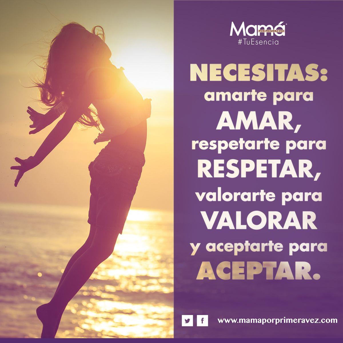 #TuEsencia ¡Buenas noches!  Consejo para meditar esta noche.  Necesitas: amarte para amar, respetarte para respetar, valorarte para valorar y aceptarte para aceptar. Recuerda, nadie puede dar lo que no tiene.