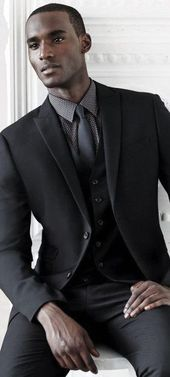 Photo of 50 Black Suit Styles For Men – Classy Male Fashion Ideas, #black #classy #fashion #ideas #sty…