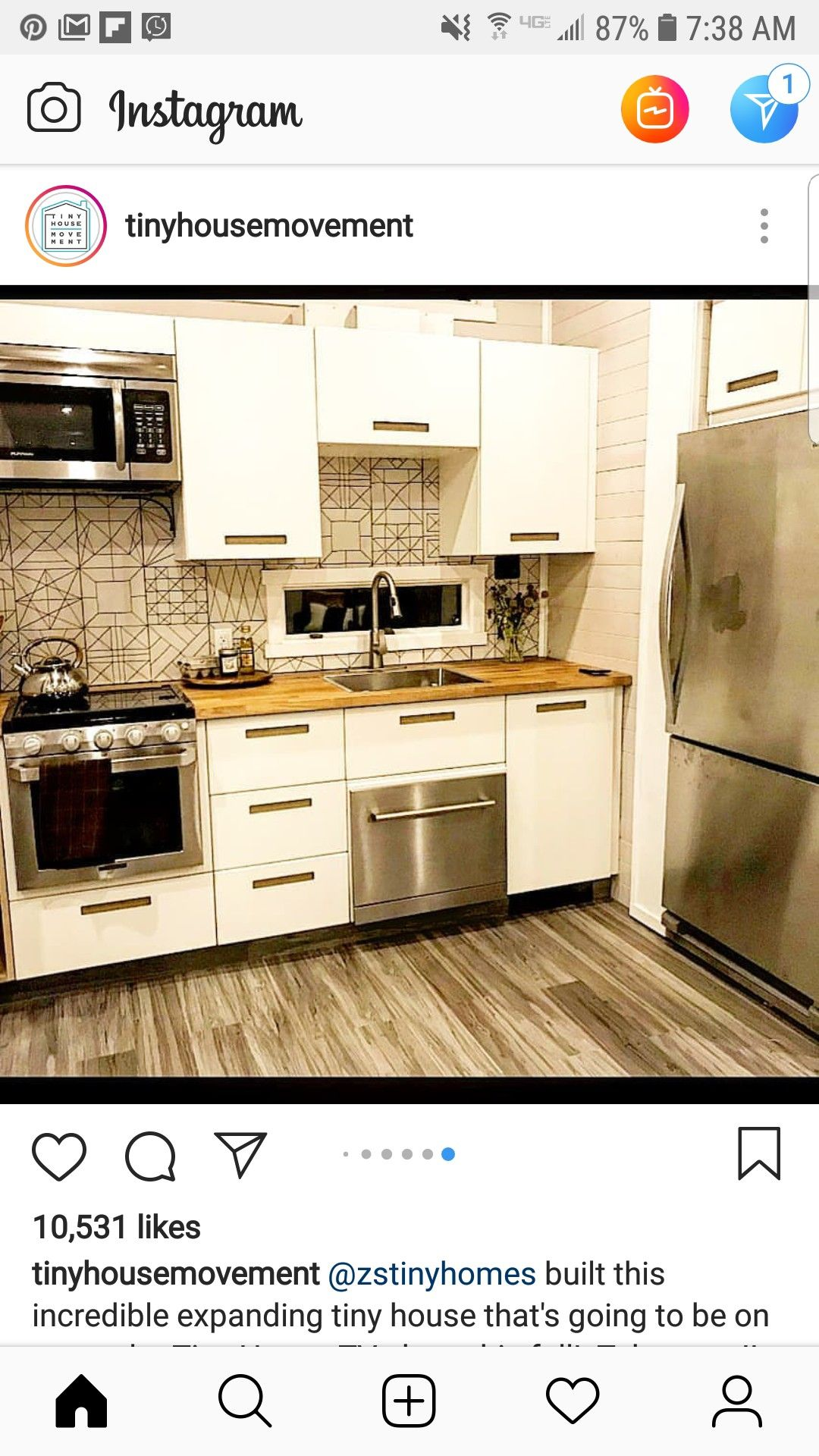 When A Washington Homeowner Found Her Kitchen Flooded By A Dishwasher She Didn T Panic Instead She Renovated Her Kitch Kitchen Remodel Kitchen Remodel Photos