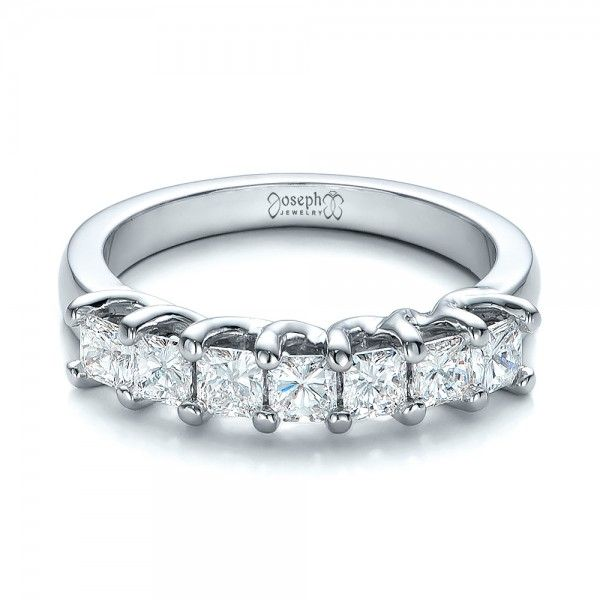 Custom Radiant Diamond Wedding Band Joseph Jewelry Bellevue