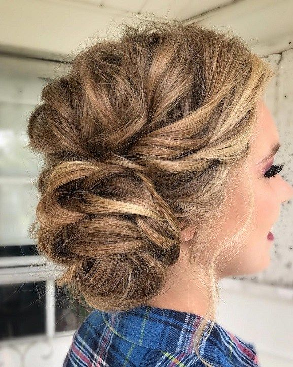 Country Wedding Hairstyles: Wedding Hairstyle Inspiration,Messy Wedding Hair Updos For