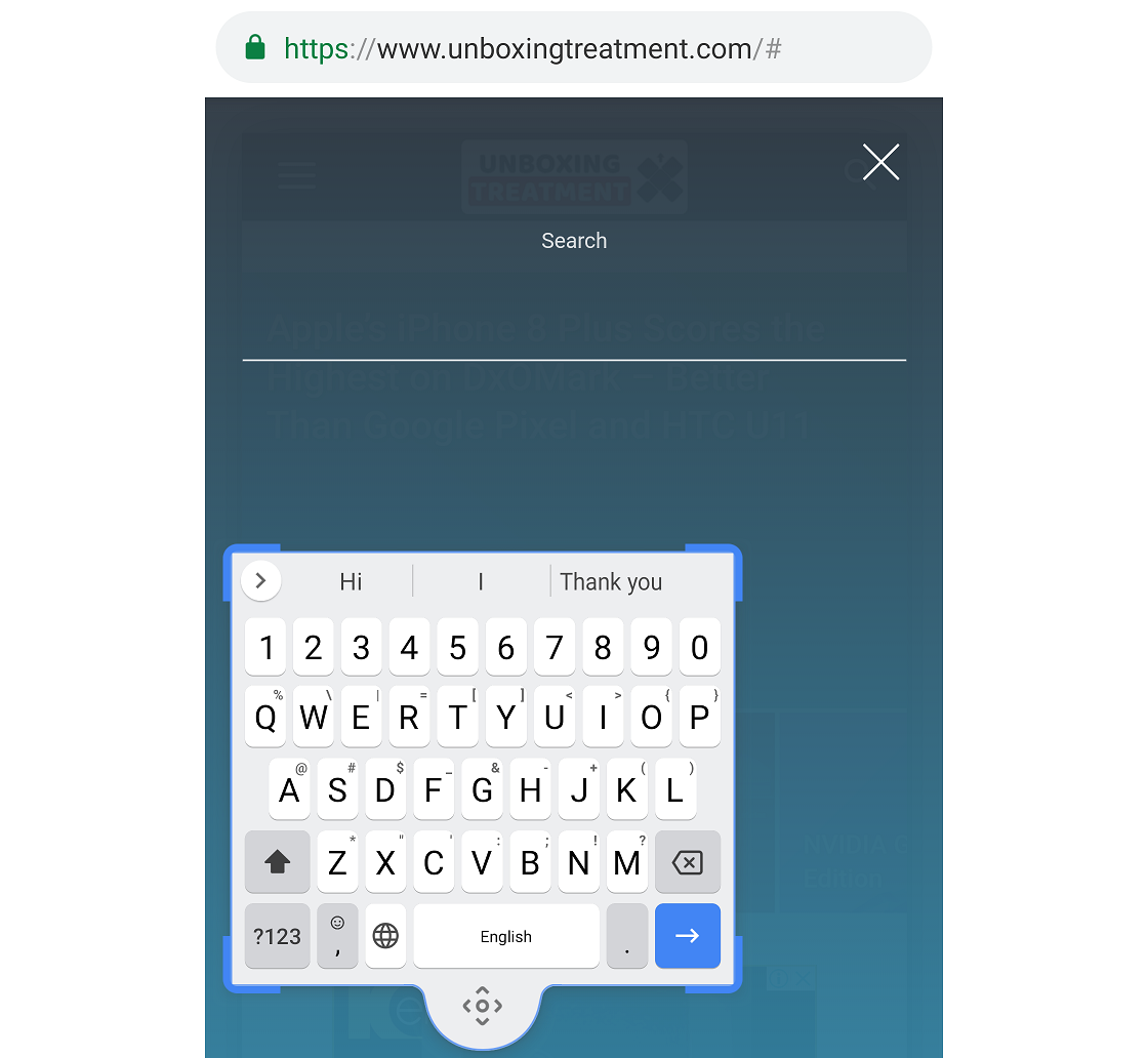 Google adds a floating keyboard mode to the Gboard App.