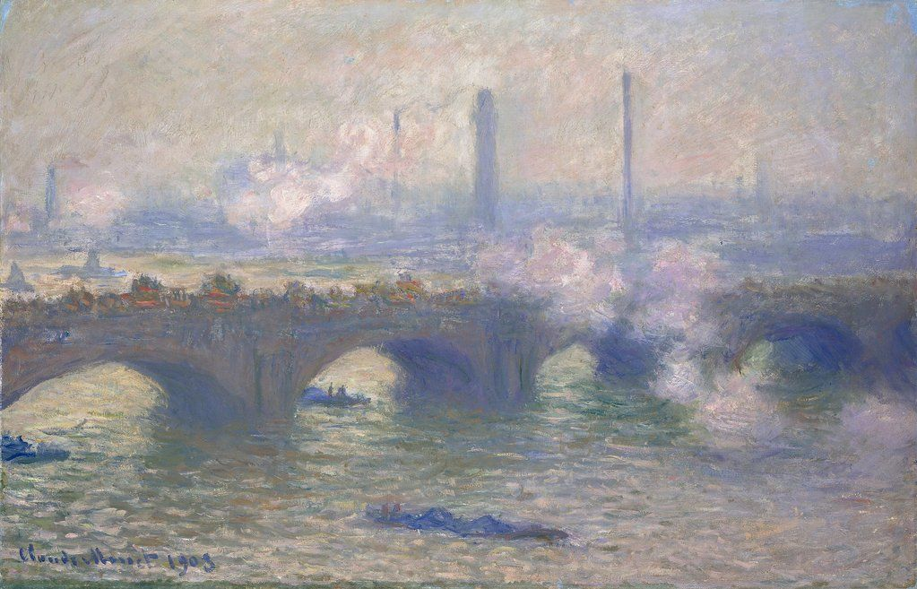 Gray Day - Monet