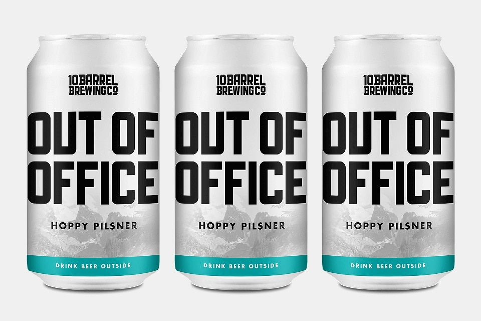Out Of Office Hoppy Pilsner Day Drinking Drinks Beer