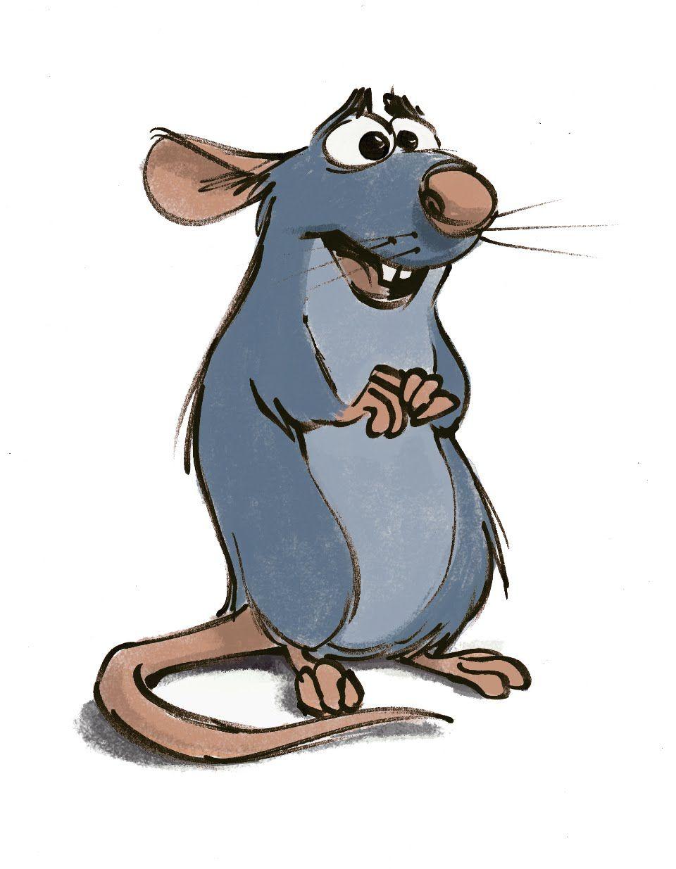 Arte conceptual de Remy (Ratatouille) - Jason Deamer